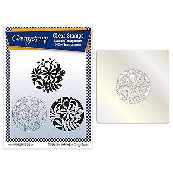 Claritystamp Korenbloem & Vrienden Stempel, Stencil &; Maskerset