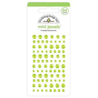 Doodlebug Design Limeade Mini Jewels (84pcs) (6719)