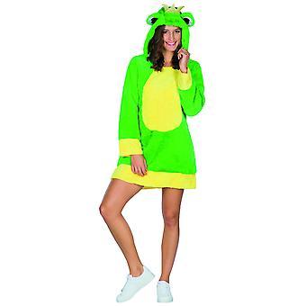Frog Damer Kjole Kostume Animalsk kostume Carnival