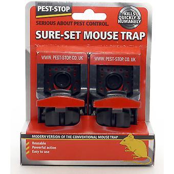 Pest Stop Biztos Egérfogó (2 Csomag)