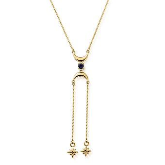 ChloBo Gold Moon Dust Necklace GN2549