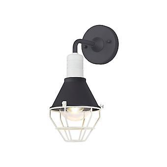 Oświetlenie Luminosa - Lampa ścienna, 1 Light E27, IP65, Antracyt, Matt White