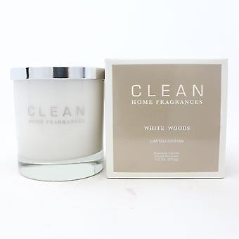 Clean White Woods Limited Edition Scented Candle  7.5oz/212g New With Box