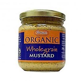 Biona - Org Wholegrain Mustard 200g