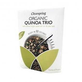 Clearspring - Org GF 90 Sec Quinoa Trio 250g