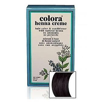 Colora Henna Creme - 100% Organic hair colour - Black