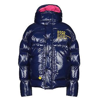 Dsquared2 Goose Down Blue Jacket