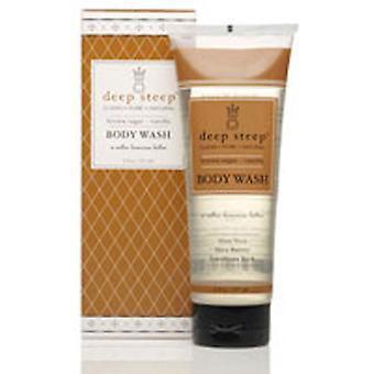 Deep Steep Body Wash, Brown Sugar Vanilla 8 OZ