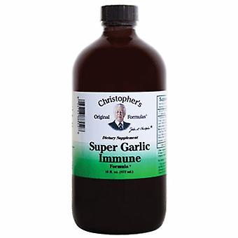 Dr. Christophers Formulas Super Garlic Immune Syrup, 16 oz