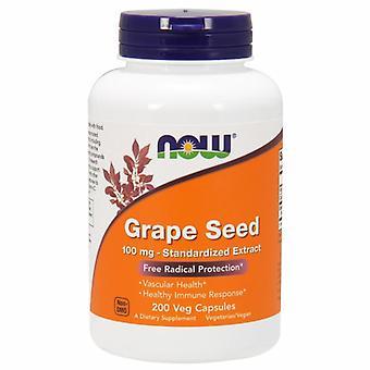 Nå Foods Grape Seed, 100 mg, 200 Caps