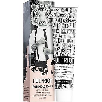 Pulp Riot Semi Permanent Cruelty-free & Vegan Hair Dye Toner - Rose Gold 90ml
