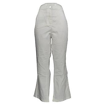 Linea de Louis Dell'Olio Women's Petite Pantalones Bota Pierna Pantalones Blanco A304732