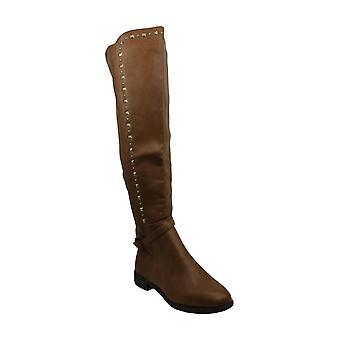 Steve Madden Womens elektric Fabric Closed Toe Knee High Fashion Boots