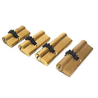 11 Teeth Gear Door Cylinder Lock Core Safety Brass, Double Spring Super With Ab