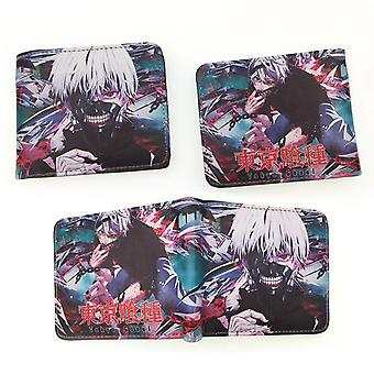 PU leather Coin Purse Cartoon anime wallet --Tokyo Ghoul # 602