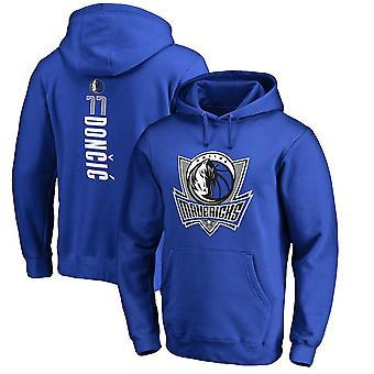 Dallas Mavericks Luka Dončić Loose Pullover Hoodie Sweatshirt WY084