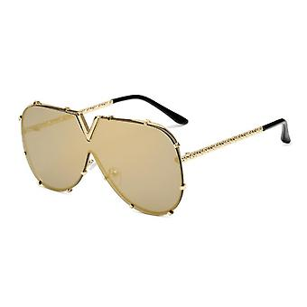Men's Sunglasses, Oversized Goggle, Female Style Oculos