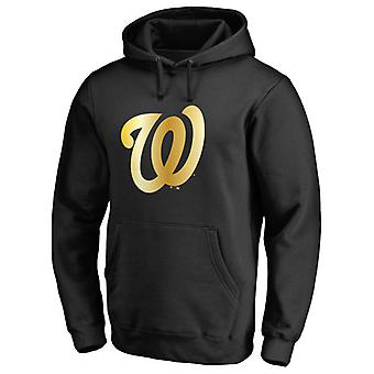 Washington Nationals Gold Collection Pullover Hoodie Swearshirt Toppar 3WY040