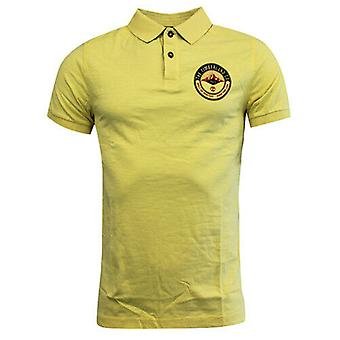 Timberland Earthkeepers Geel Katoen Button Up Mens Polo Shirt 6008J 718 R12I