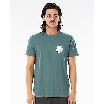 Rip Curl Men's T-Shirt ~ Wettie Essential bluestone