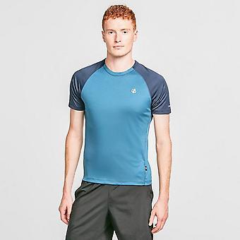 New Dare 2b Men's Peerless Short Sleeve T-Shirt Blue