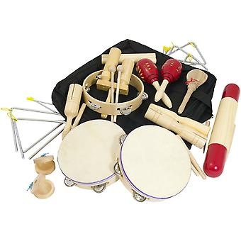 Tiger music world rhythm classroom pack percussion set pet7