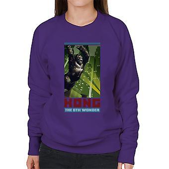 King Kong Den 8: e Wonder City Rage Women's Sweatshirt
