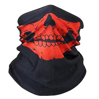 3d Ghost Skull Bandana Neck Gaiter Head Shield Summer Tube