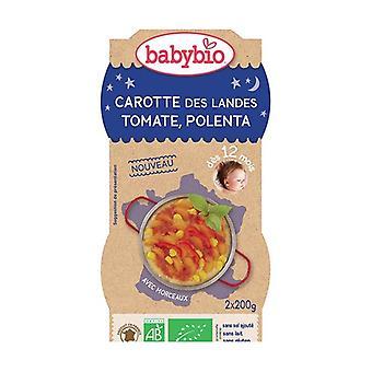Good Night Landes Carrot Mousseline Polenta Tomato 2 units of 200g