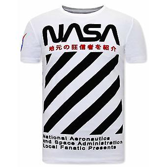 Nasa shirt - hvid