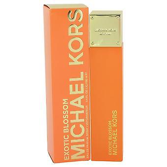 Michael Kors Exotic Blossom Eau De Parfum Spray By Michael Kors 3.4 oz Eau De Parfum Spray
