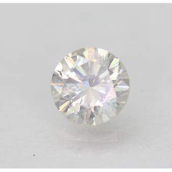 Sertifioitu 0,47 karat G VS2 pyöreä brilliant parannettu luonnon timantti 4.93mm 3VG