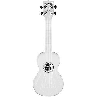 Kala mk-swt/clear makala waterman composite soprano ukulele in clear color