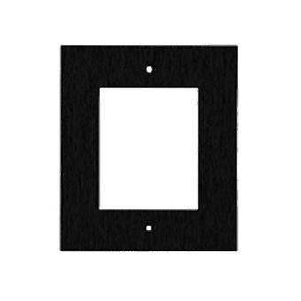 2N Helios Ip Verso Frame For Flush Installation Black