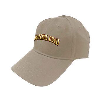 Grateful Dead Baseball Cap Sunshine Daydream Band Logo new Official Sand Unisex