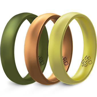 Terra 3-pack Breathable Silicone Ring