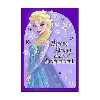Hallmark Elsa Brave & Strong Disney Frozen Birthday Card 25470188