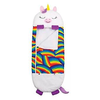 Happy Nappers Children unicorn sleeping bag,Memory Foam Pillow Sleeping Bag