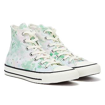 Converse All Star Festival Hi Womens White / Green Trainers