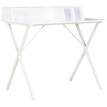 vidaXL Työpöytä Valkoinen 80x50x84 cm