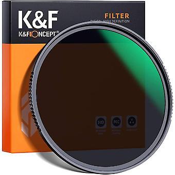 FengChun KF Concept Nano-X Graufilter ND8 (3 Stop) 72mm ND Filter(0,9) aus optisches Glas mit