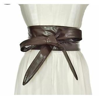 Kvinder længere bred bind linning snørebånd op bælte