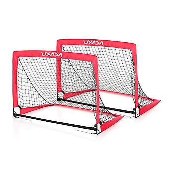 Portable folding soccer goal child pop up for sports training backyard playground 40*30*30 inches