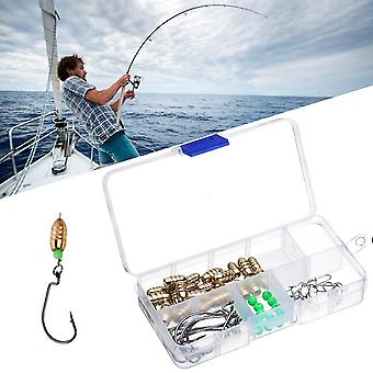 Fishing Lure Fishing Sinkers Hunting Swivel Ring Connector With Hook For Outdoor Hunting Fishing