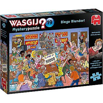 Jumbo Bingo Blunder Jigsaw Puzzle - 1000 Pieces