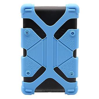 "Ipad Case Stoßfestes Silikon 7.9"" - 9"" Blau"