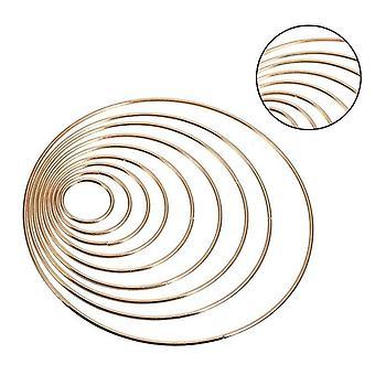 10pcs / Set Gold Dreamcatcher Ringe