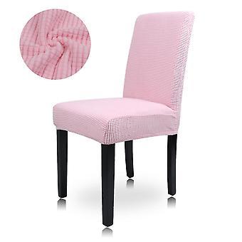 La sedia da pranzo in velluto schiacciato copre l'arredamento protettivo elasticizzato slipcover Home
