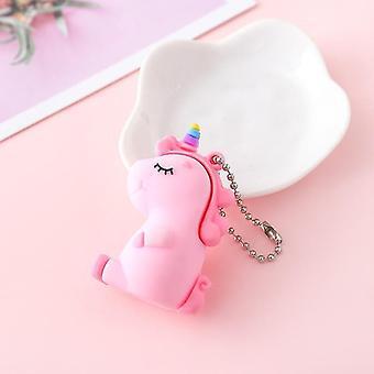 Keychains cute creative fat unicorn animal plush keychain creative color sequins