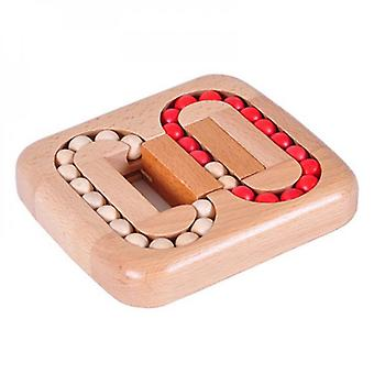 Wooden Brain Teaser Puzzle Cube Wooden Puzzles Logic Puzzle Educational Toy For